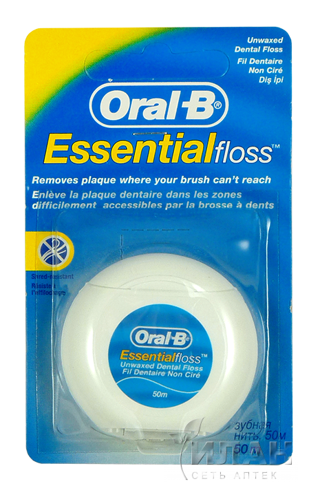 Зубная нить Орал-Би Эссеншиал (Oral-B Essential)